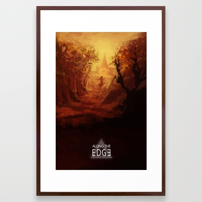 along-the-edge-the-forest-framed-prints